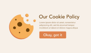 Privacy laws require cookie warnings on websites